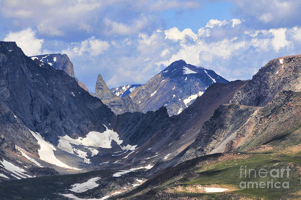 Photograph - Beartooth Mountain by Gary Beeler
