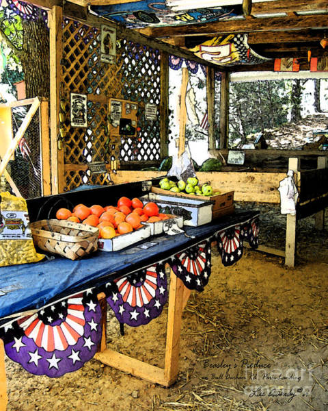Photograph - Beasley's Produce by Lee Owenby