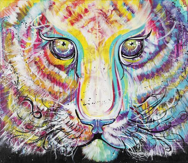 Wall Art - Painting - Beasting by Aramis Hamer