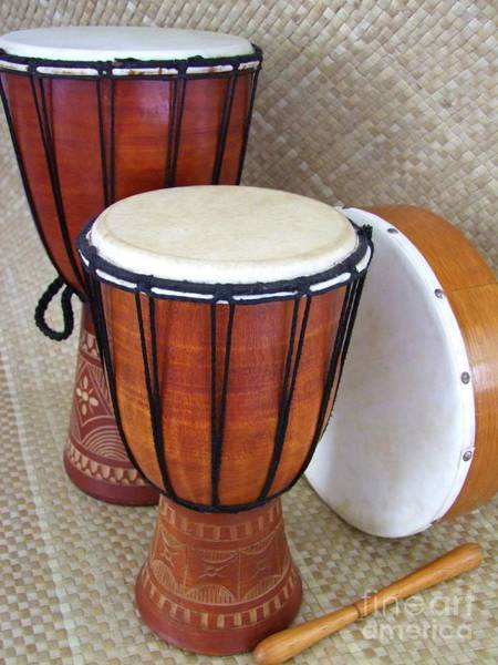 Djembe Wall Art - Photograph - Beat It by Mary Deal