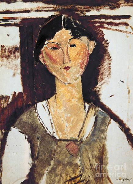 Modigliani Painting - Beatrice Hastings by Amedeo Modigliani