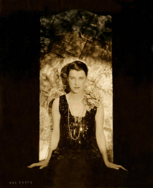 Photograph - Beatrice Lillie - Completely Restored by Doc Braham