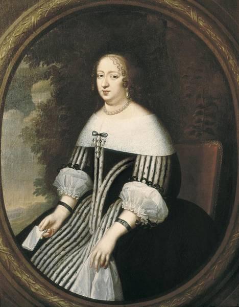 1604 Photograph - Beaubrun, Charles 1604 - 1692. Anne by Everett