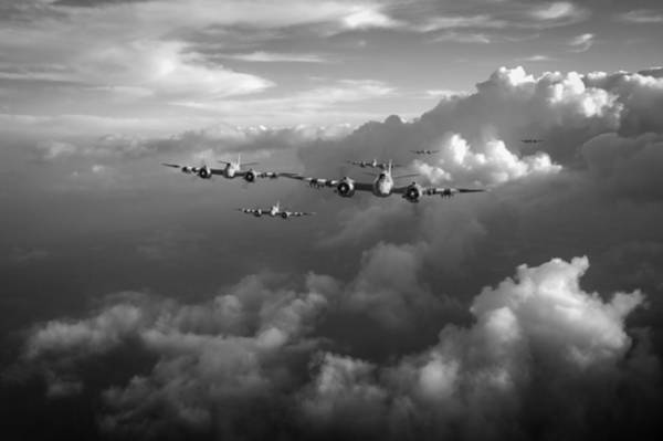 Photograph - Beaufighters Strike Package Black And White Version by Gary Eason
