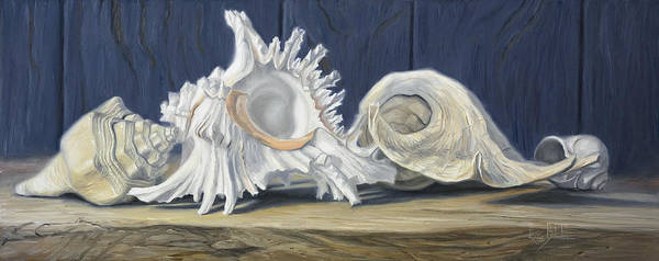 Painting - Beauties Of The Sea by Lucie Bilodeau