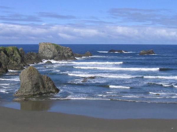 Whitecaps Photograph - Beautiful Bandon Beach by Will Borden