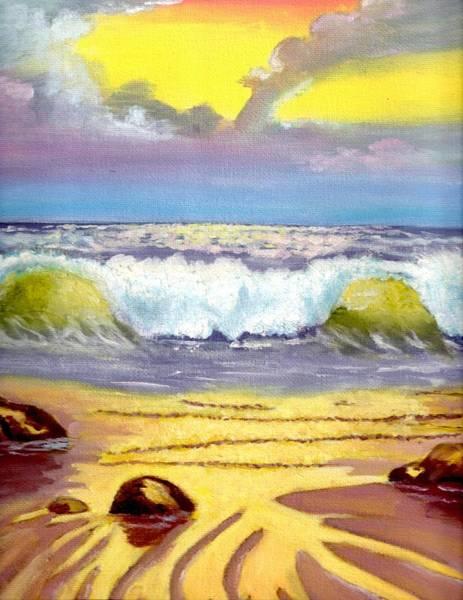 Beautiful Beach Art Print