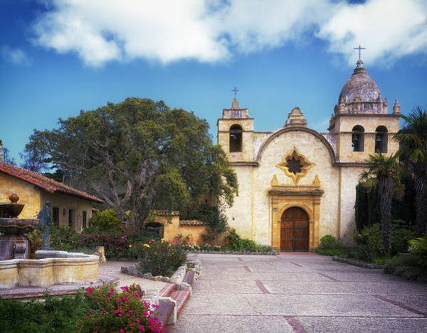 Carmel Mission Photograph - Beautiful Carmel Mission Basilica by Mountain Dreams