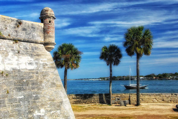 Photograph - Beautiful Castillo De San Marcos by Ghostwinds Photography