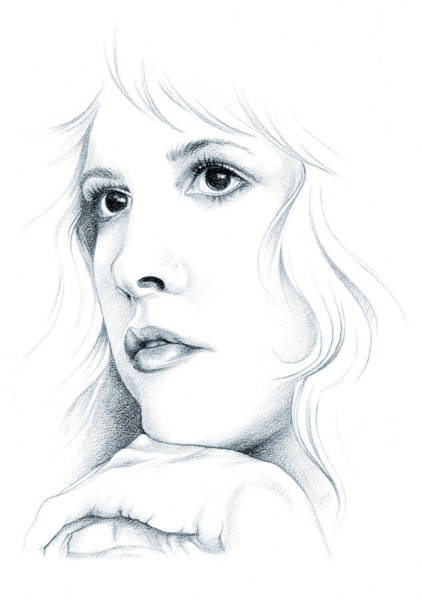 Drawing - Beautiful Child by Johanna Pieterman