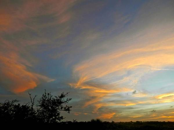 Disappearance Photograph - Beautiful Colors Of A Evening Sunset by Joe Wyman