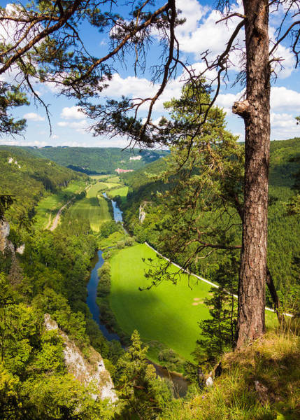 Baden Wuerttemberg Photograph - Beautiful Danube Valley by Matthias Hauser