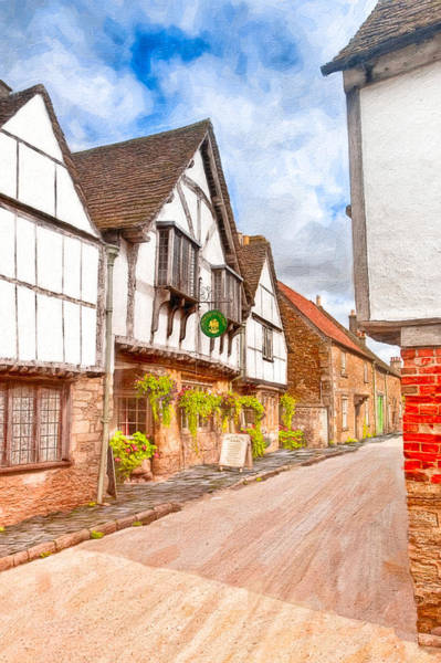 Photograph - Beautiful Day In An Old English Village - Lacock by Mark Tisdale