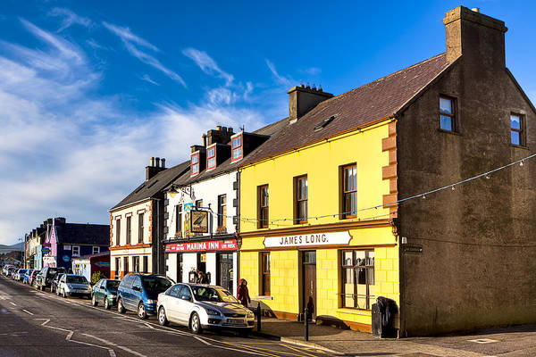 Photograph - Beautiful Day On The Streets Of Dingle Ireland by Mark Tisdale