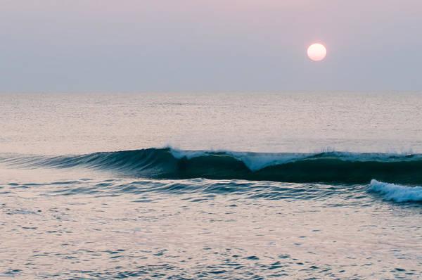 Photograph - Beautiful Empty Beach At Sunrise  by Alex Grichenko