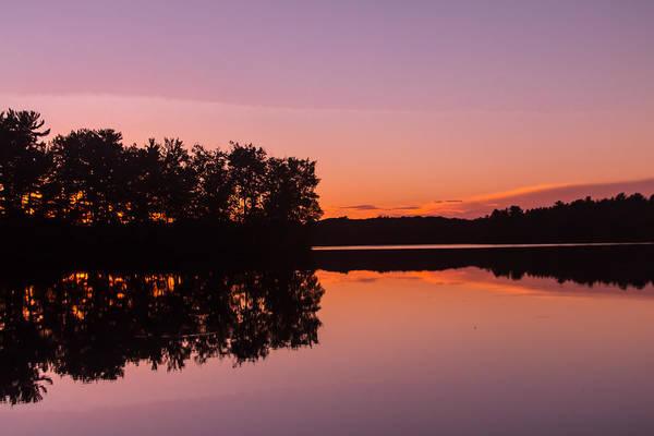 Sturgeon River Photograph - Beautiful Glow by Robert Torkomian