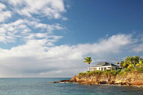 Villa Photograph - Beautiful Holiday Villa In Antigua by Michaelutech