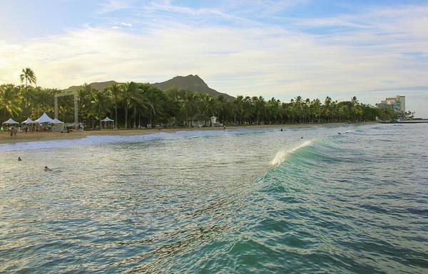 Sunshade Photograph - Beautiful Kuhio Beach by Daniela Duncan