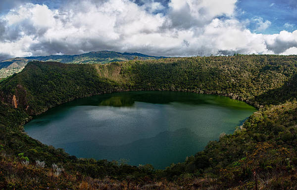 Boyaca Photograph - Beautiful Lake Guatavita by Jess Kraft
