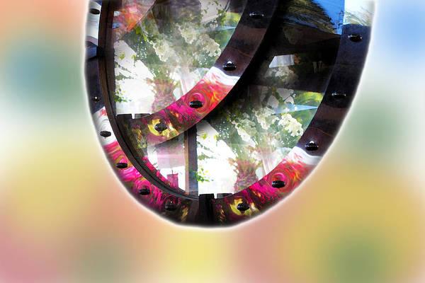 Digital Art - Beautiful Landscape In Mirrors by Augusta Stylianou