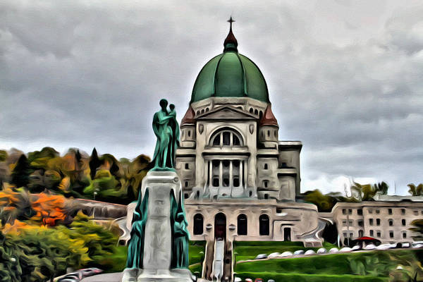 Photograph - Beautiful Montreal Church by Alice Gipson