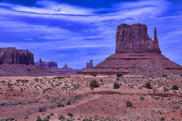 Navajo Indian Reservation Photograph - Beautiful Monument Valley by Garry Gay