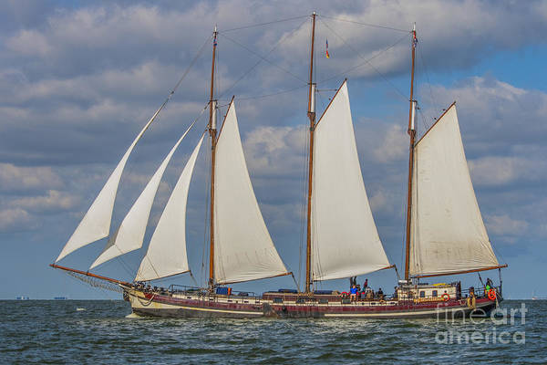 Wall Art - Photograph - Beautiful Old Dutch Wooden Boat  by Patricia Hofmeester