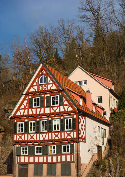 Photograph - Beautiful Old Half-timbered House In Calw Germany by Matthias Hauser