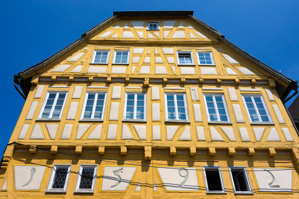 Photograph - Beautiful Old Half-timbered House In Sindelfingen Germany by Matthias Hauser