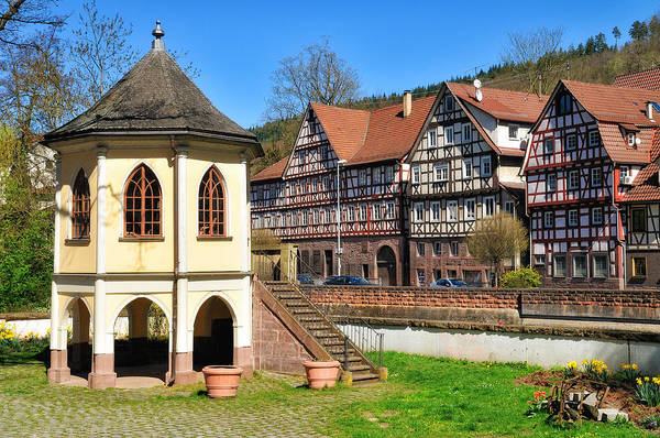 Photograph - Beautiful Old Historic German Town Calw by Matthias Hauser