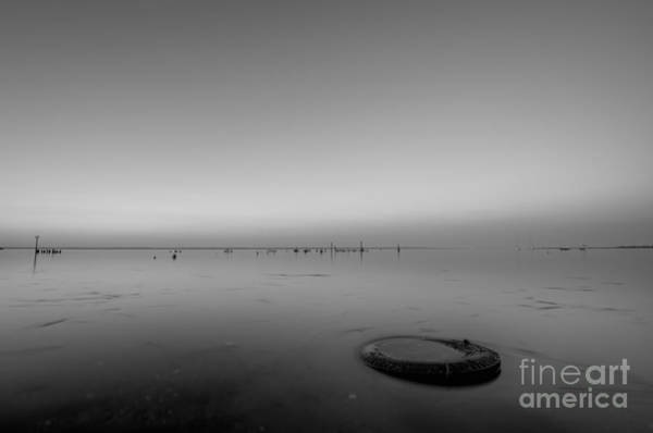 Port Orange Photograph - Beautiful Pollution Bw by Michael Ver Sprill