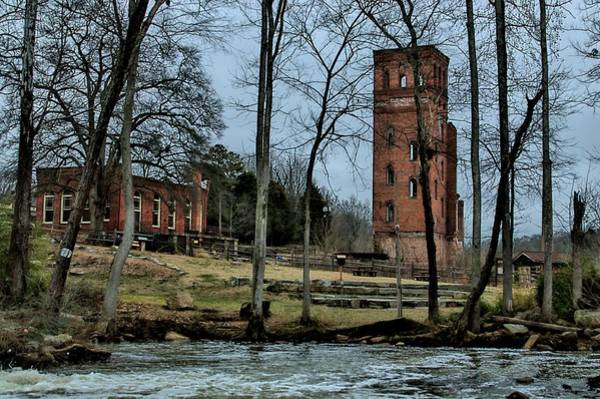 Mill Shoals Falls Wall Art - Photograph - Beautiful Ruins by Sonja Dover