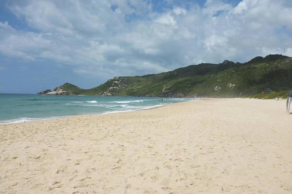 Beautiful Sandy Beach In Brazil Art Print