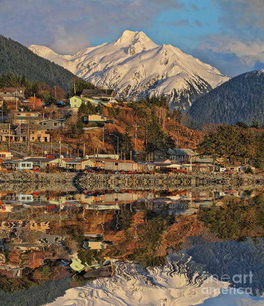 Wall Art - Photograph - Beautiful Sitka Reflections by Scarlett Images Photography
