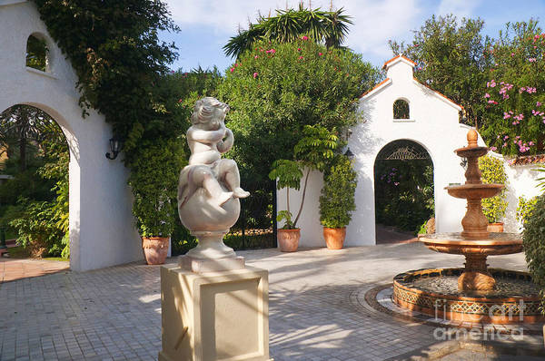 Photograph - Beautiful Spanish Patio by Brenda Kean