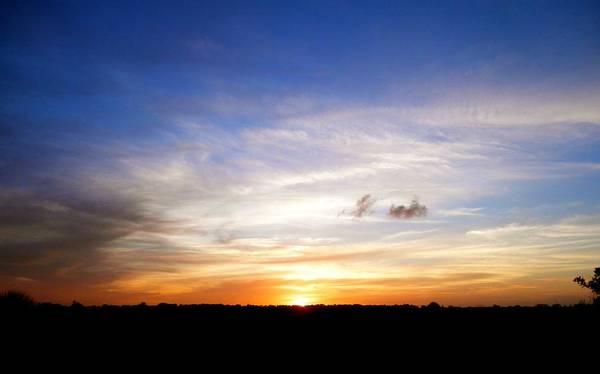 Disappearance Photograph - Beautiful Sunset 1 by Joe Wyman