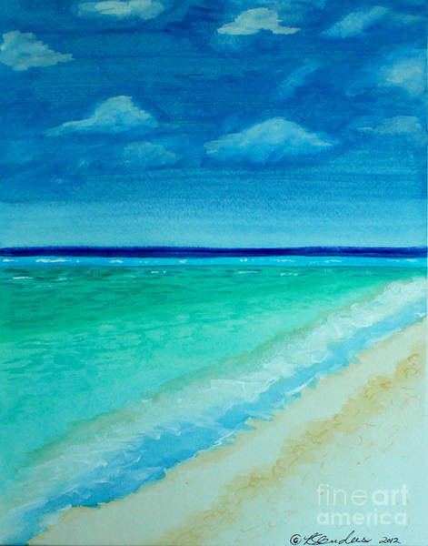 Painting - Beautiful View Of The Sea by Robyn Saunders