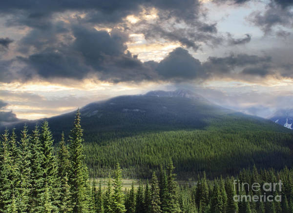 Photograph - Beautiful View Of The Rocky Mountains In Alberta by Sandra Cunningham
