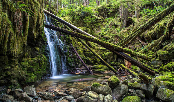 Photograph - Beautiful Waterfall British Columbia by Pierre Leclerc Photography