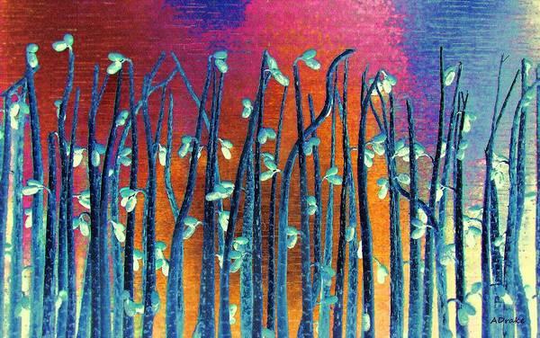 Beautiful Weeds On Venus Art Print
