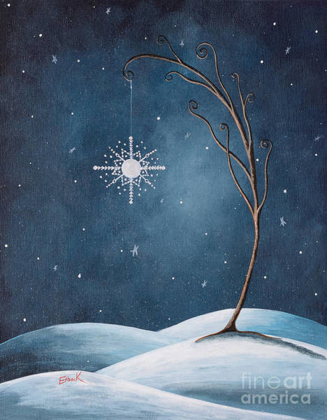 Wall Art - Painting - Beautiful Winterland By Shawna Erback by Erback Art