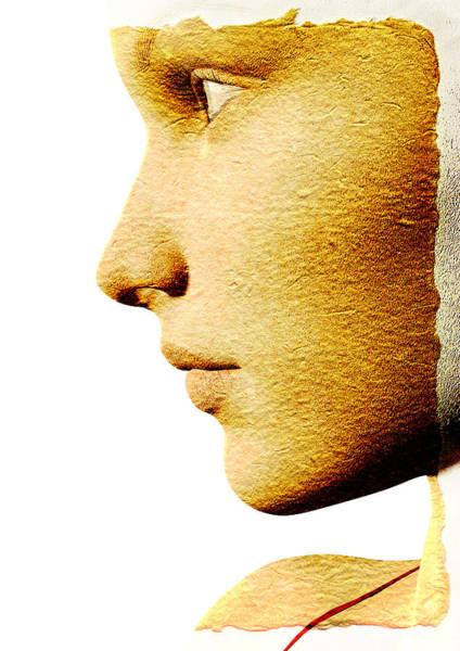 Nose Digital Art - Beautiful Woman by David Ridley