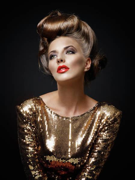 Make Up Photograph - Beautiful Woman by Millann