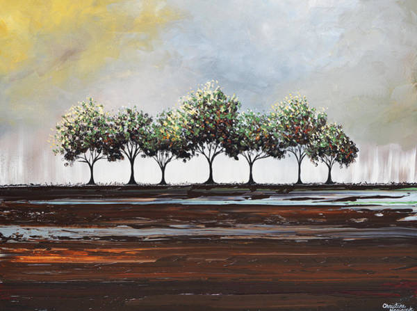 Wall Art - Painting - Beauty After The Storm by Christine Bell