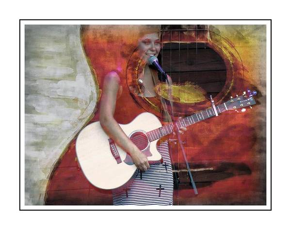 Photograph - Beauty And Her Guitar by Alice Gipson