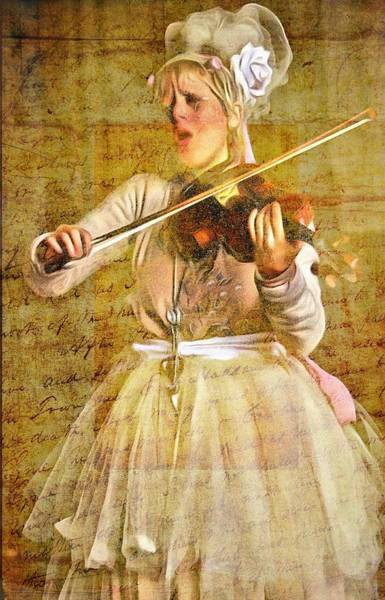 Photograph - Beauty And Her Violin by Alice Gipson