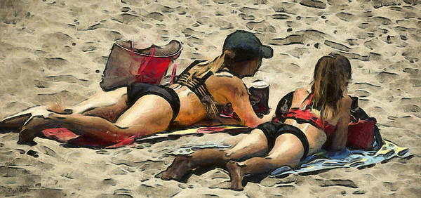 Photograph - Beauty And The Beach Digital by Floyd Snyder