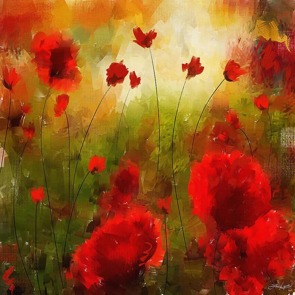 Wall Art - Painting - Beauty In Bloom by Lourry Legarde