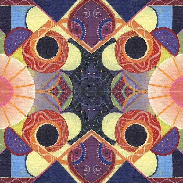 Mixed Media - Beauty In Symmetry 3 - The Joy Of Design X X Arrangement by Helena Tiainen