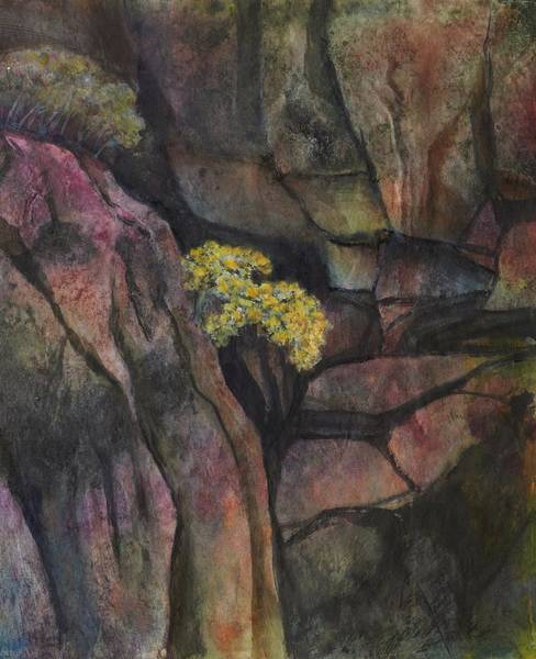 Ming Tree Painting - Beauty In The Canyon by Ming Franz